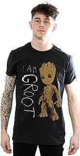 Men's Guardians of The Galaxy I Am Groot Scribbles T-Shirt
