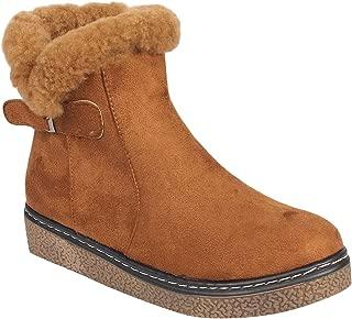 Flat n Heels Womens Tan Boots FnH 1710-23-TAN