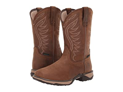 Ariat Anthem Waterproof (Distressed Brown) Cowboy Boots
