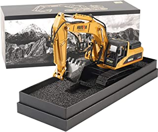Alloy Excavator Construction Truck Toy 1:40 Simulation Excavator Model Diecast Tractor Model Metal Construction Vehicle To...