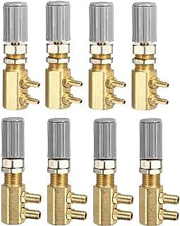 Frieed Soupape de régulation de régulateur Dentaire 4PCS pour la Chaise Dentaire Turbine Unité de Remplacement Durable (Co...