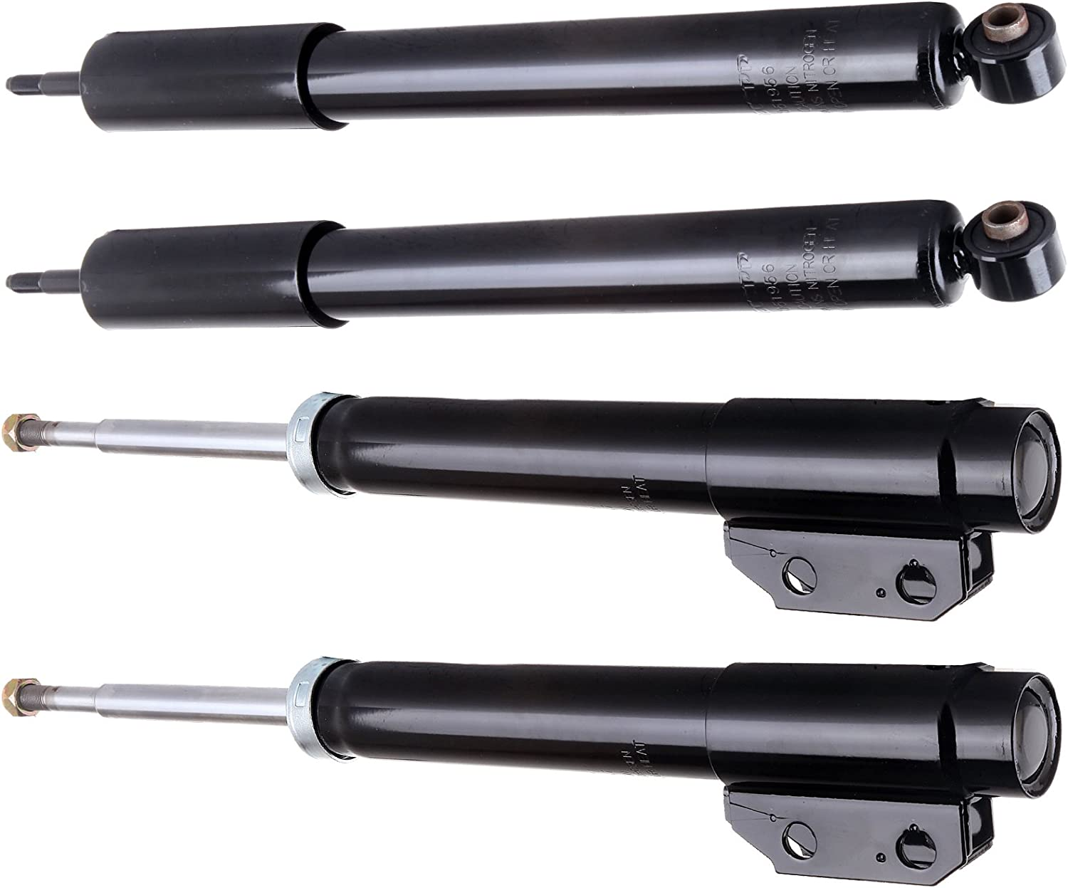 LSAILON 4 pcs Max 78% OFF Front Rear Struts Shocks free for Replacement Absorbers