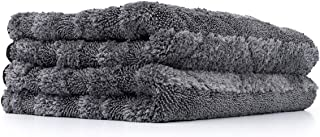 The Rag Company - The Gauntlet Microfiber Drying and Wheel Towels 15 in. x 24 in. - Drying Towel (2-Pack) 11524-GAUNTLET-DRY-GRY