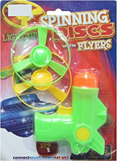 Feilun N-306 Sprinning Discs Gun With Flyers For Boys, Multi Color