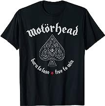 motorhead born to lose t shirt