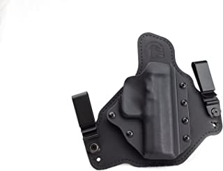 Black Arch Springfield XD-S 3.3 IWB Hybrid Holster with Adjustable Retention, Holsters ACE-1