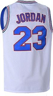 OTHERCRAZY Mens Basketball Jersey 23# Space Movie Jersey White/Black/Blue