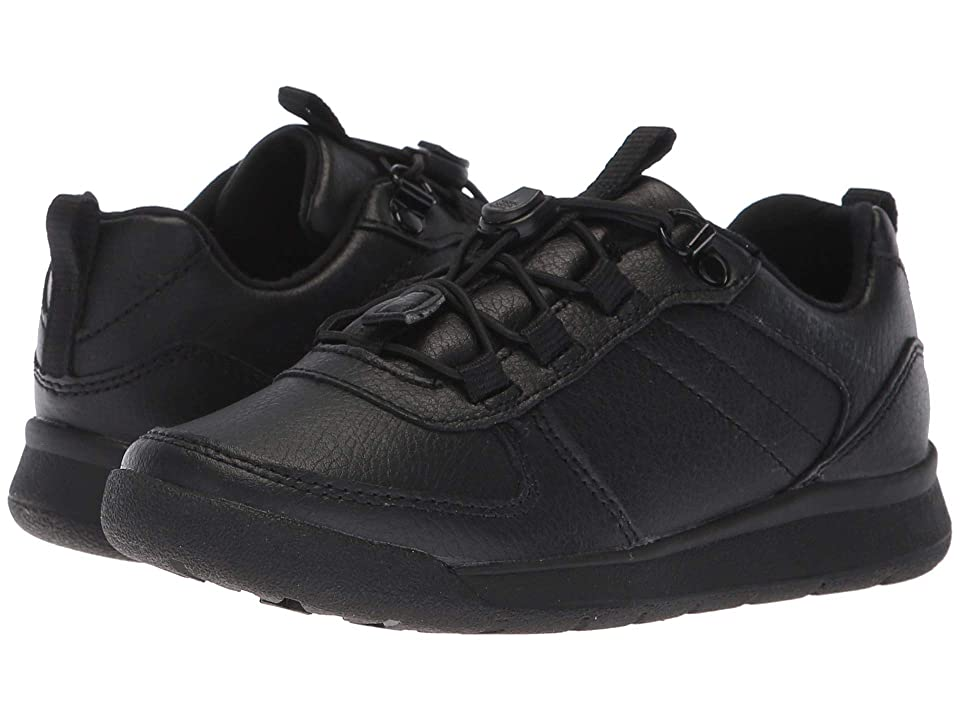 Merrell Kids Burnt Rock Low (Little Kid) (Black) Boys Shoes