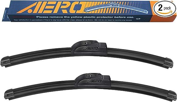 "AERO 26"" + 18"" OEM Quality All Season Beam Windshield Wiper Blades (Set of 2): image"