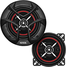 $23 » Sound Storm Laboratories CG443 4 Inch Car Speakers - 200 Watts of Power Per Pair, 100 Watts Each, Full Range, 3 Way, Sold ...