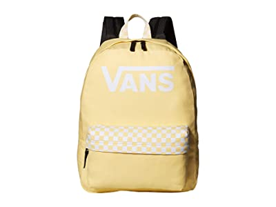 Vans Color Theory Realm Backpack (Golden/Haze) Backpack Bags