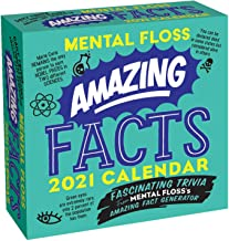 Amazing Facts from Mental Floss 2021 Day-to-Day Calendar: Fascinating Trivia From Mental Floss's Amazing Fact Generator PDF