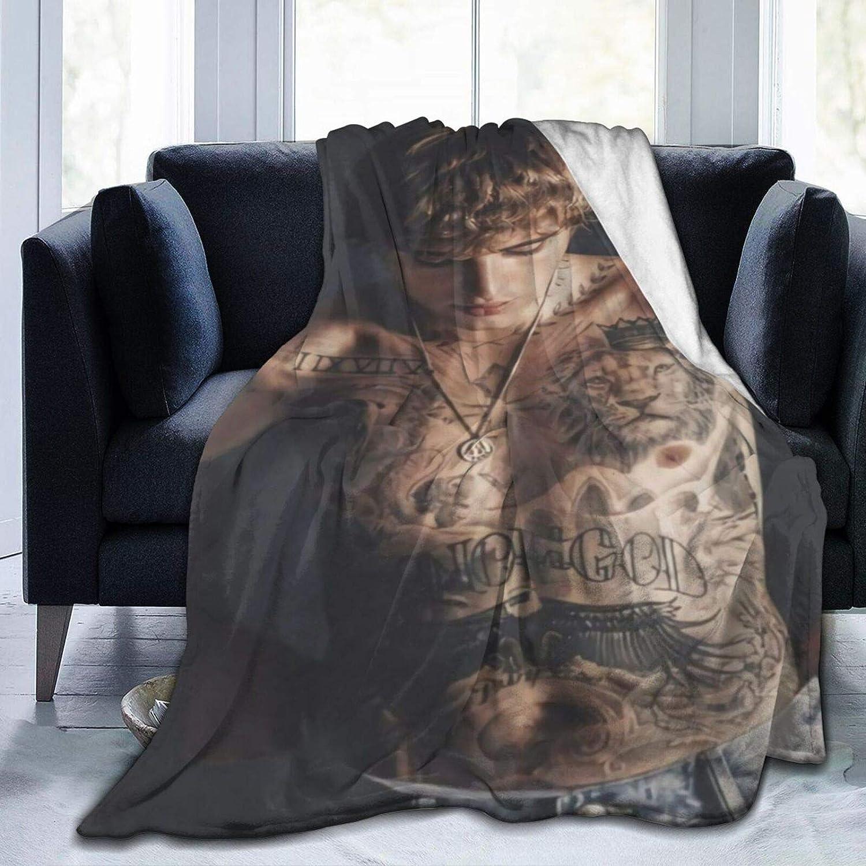 FEUER1 Ranking TOP8 Ultra-Soft Micro Louisville-Jefferson County Mall Fleece Plush Bed Blanket,Light Blanket