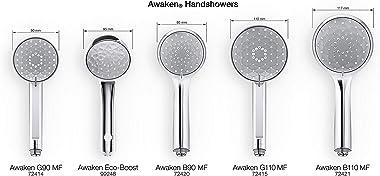 KOHLER Awaken B90 Multifunction Hand Held Shower Head, Polished Chrome, K-72420-CP