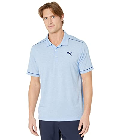 PUMA Golf Rancho Polo (Blue Bell Heather) Men