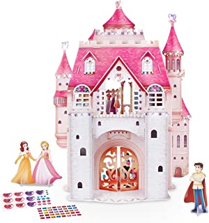 CubicFun 3D Kids Puzzle Princess Dollhouse Crystal for Girls and Adult, Princess Birthday Party