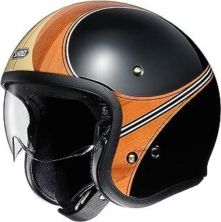 Shoei J-O Helmet - Waimea (X-Large) (Black/Wood)