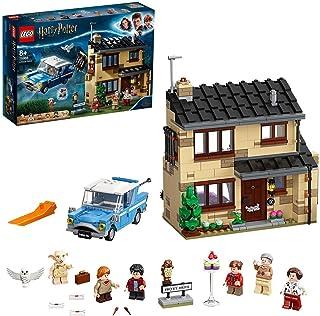 LEGO 75968 Harry Potter Privet Drive 4 Byggsats med Leksaksbil, Dobby Figur, Byggklossar för Barn