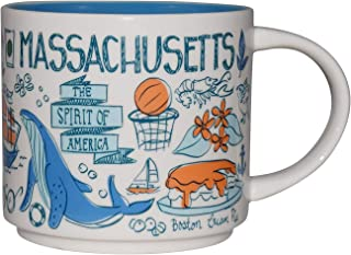 Starbucks Been There Series Collectible Coffee Mug (Massachusetts)