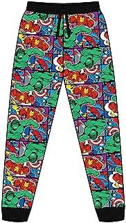 Mens Marvel Comic Strip Multi Cuffed Lounge Pants Pyjama Bottoms Size XL