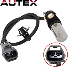 AUTEX Crankshaft Position Sensor PC406 Compatible with Toyota Camry 02-11 & Corolla 09-10 & Highlander 01-07 & Matrix 09-13 & RAV4 01-08/Lexus HS250h 10-12/Pontiac Vibe 09-10/Scion tC 05-10 & xB 14