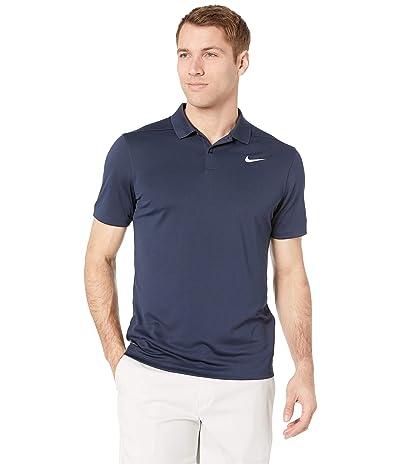 Nike Golf Dry Victory Slim Solid Polo (Obsidian/Flt Silver) Men