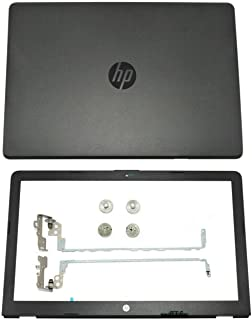New HP 17-bs0xx 17-bs011dx 17-bs010nr Top LCD back cover case lid+hinges gray