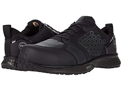 Timberland PRO Reaxion Composite Safety Toe (Black/Black) Men