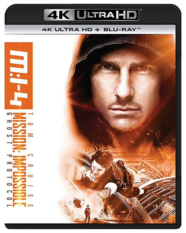 つぶやきジェム黒人ミッション:インポッシブル/ゴースト?プロトコル (4K ULTRA HD + Blu-rayセット) [4K ULTRA HD + Blu-ray]