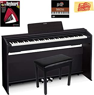 Casio Privia PX-870 Digital Piano – Black Bundle with Furniture Bench,..