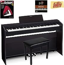 Casio Privia PX-870 Digital Piano - Black Bundle with Furnit