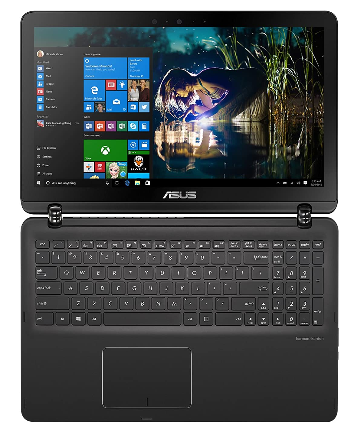 ASUS 2-in-1 Notebook PC (Q534UX-BI7T22) Intel Core i7, 16GB RAM, 512GB SSD + 2TB HDD, WIn10 64 xmkpi455634