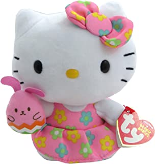 6db3f6850 Ty Beanie Baby HELLO KITTY FLOWER DRESS & BUNNY (Easter)
