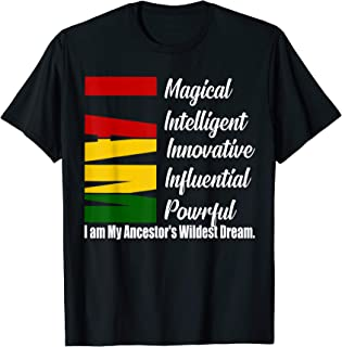 I'm Magical Black history month tshirts unisex