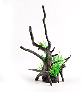 Saim Aquarium Plastic Dead Branches Tree Root Ornament 9.5