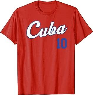 cuban baseball t shirts