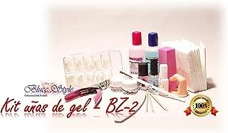 Kit para hacer las uñas de gel-BZ2- Manicura, pediicura,gel
