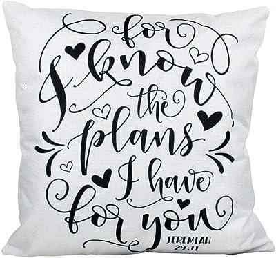 Fashion pillowcase design Algodón Cuadrado Manta Decorativa ...