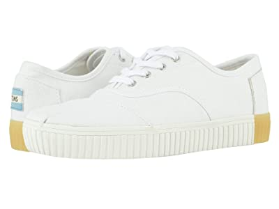 TOMS Cordones Indio (White) Women