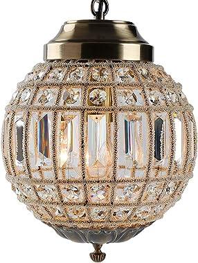 Retro Vintage Royal Empire Ball Style Big Led Crystal Modern Chandelier Lamp Lustres Lights E27 Living Room Bedroom Bathroom