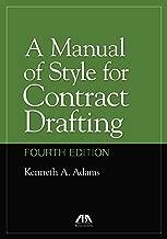 Best ken adams contract drafting Reviews