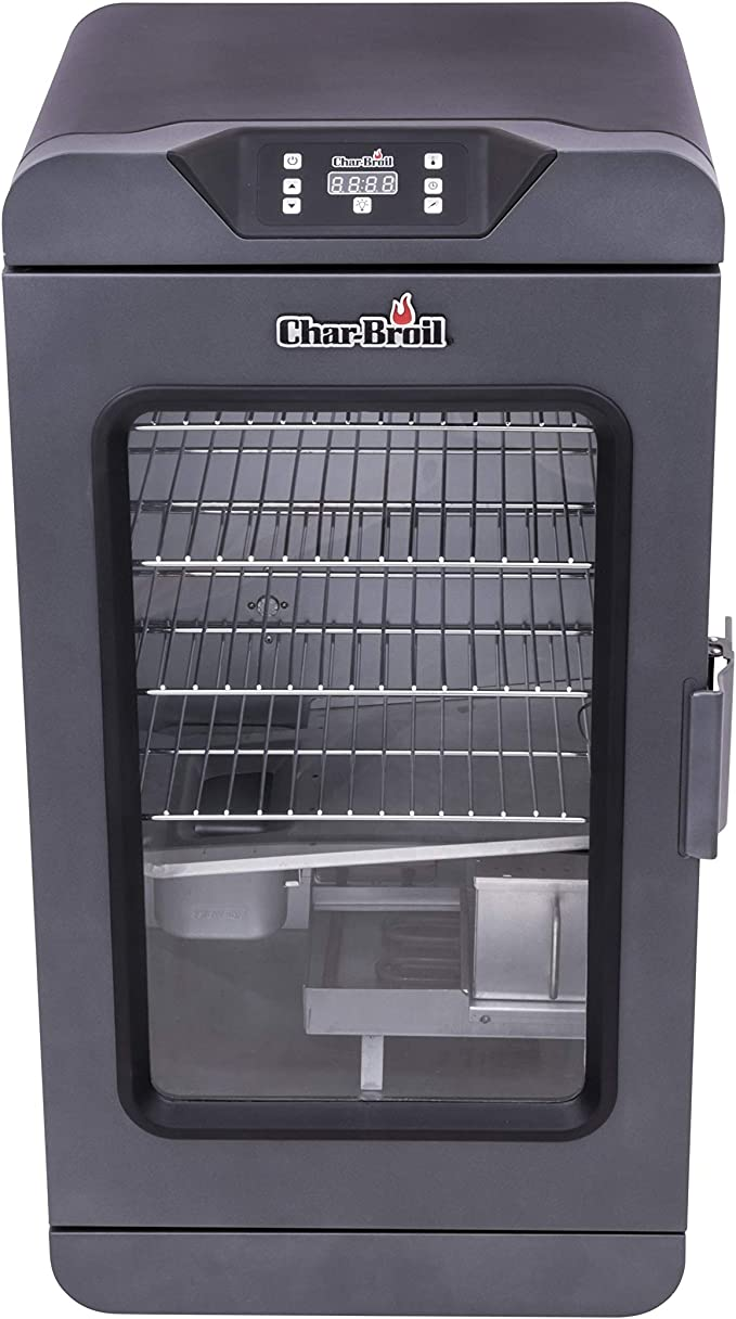 Char-Broil 19202101 Deluxe Black Digital Electric Smoker - Best Double-Walled Design
