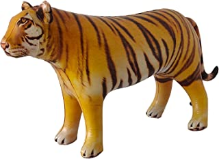 Jet Creations Inflatable Tiger Big Cat Air Stuffed Plush Animal, Ideal for Party Decorations, Supplies, Pool Float Toys, G...