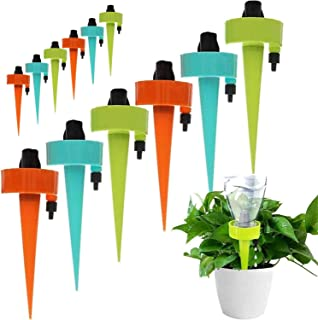 NANAO Plant Self Watering Spikes Devices,Universal Adjustable Plant Watering Spikes Automatic Irrigation Equipment with Co...