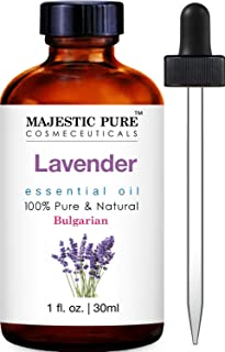 Majestic Pure Bulgarian Lavender Essential Oil, 100% Pure and Natural with Therapeutic Grade, Premium Quality Bulgarian La...