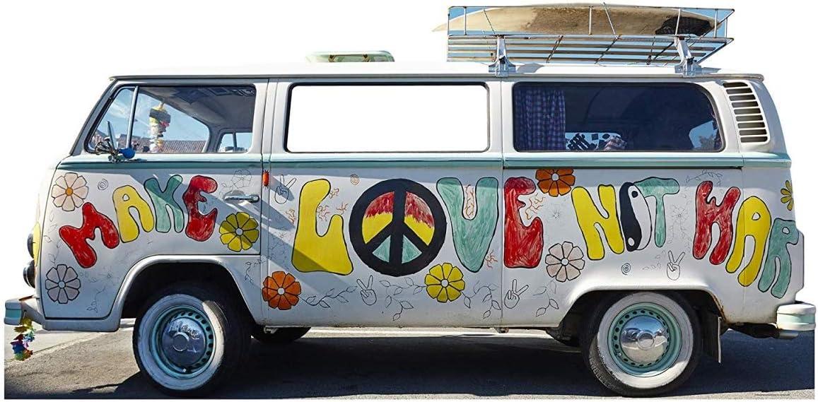 Star In a popularity Cutouts SC2068 Hippie Standup Cardboard Van Cutout trend rank