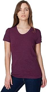 Women Tri-Blend Short Sleeve Women's Track T-Shirt