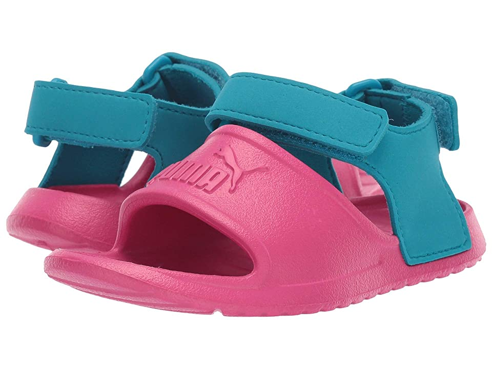 Puma Kids Divecat Injex (Toddler) (Fuchsia Purple/Caribbean Sea) Kid
