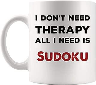 Sudoku Mug Coffee Cup Tea Mugs Gift   Kakuro Game crossword puzzle children Funny Lover Men Women Mugs Kids Sayings Travel