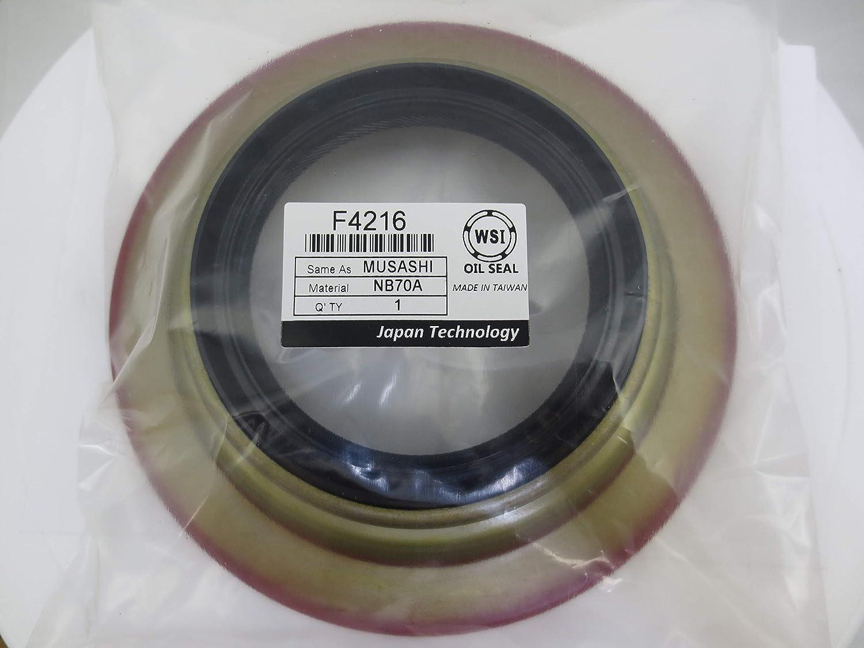 Max 79% OFF El Paso Mall WSI F4216 Oil Seal Musashi for